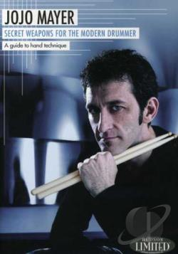 JoJo Mayer - Secret Weapons for the Modern Drummer DVD Cover Art