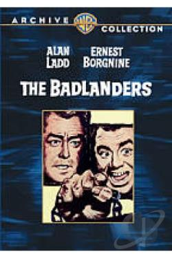 Badlanders DVD Cover Art