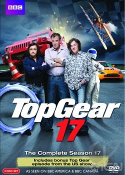 Top Gear - The Complete Season 17 BRAY Cover Art