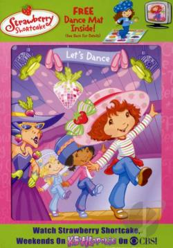 Strawberry Shortcake - Let's Dance DVD Cover Art