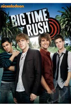 Big Time Rush - The First Season: Vol. 1 DVD Cover Art