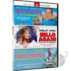 Mr. Destiny/Hello Again/Taking Care of Business DVD Cover Art