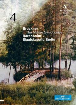 Barenboim/Staatskapelle Berlin: Bruckner - The Mature Symphonies, No. 4 DVD Cover Art