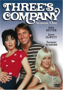 Three's Company - Season 1 DVD Cover Art