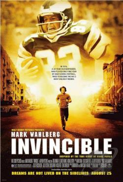 Invincible DVD Cover Art