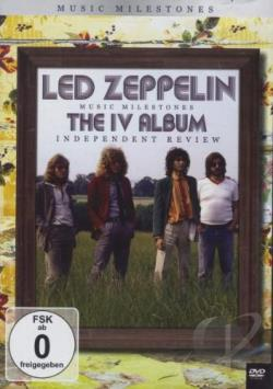 Led Zeppelin: Music Milestones - IV DVD Cover Art