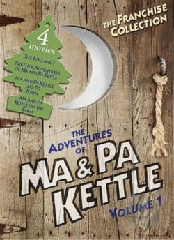 Adventures of Ma and Pa Kettle - Volume 1 DVD Cover Art