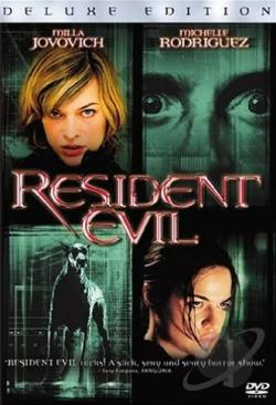 Resident Evil DVD Cover Art