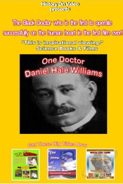 One Doctor: Daniel Hale Williams DVD Cover Art
