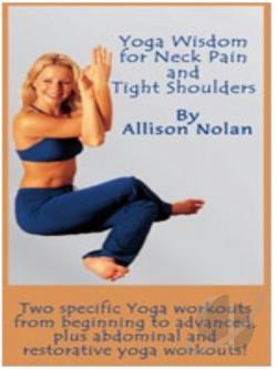 Yoga Wisdom For Neck Pain Tight Shoulders DVD Movie