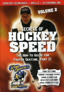 Robby Glantz - Secrets of Hockey Speed Vol. 2 DVD Cover Art