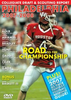 Road to the Championship: Philadelphia 2007-08 DVD Cover Art
