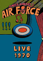 Ginger Baker's Airforce: Live 1970 DVD Cover Art