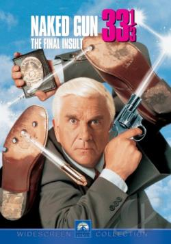 Naked Gun 33 1/3: The Final Insult DVD Cover Art