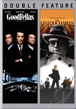 Goodfellas/The Untouchables DVD Cover Art