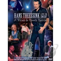 Hans Theessink Band: Live in Concert - A Blues & Roots Revue DVD Cover Art
