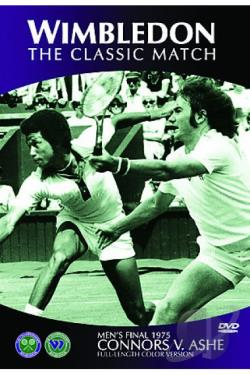 Wimbledon 1975 Final: Ashe Vs. Connors DVD Cover Art