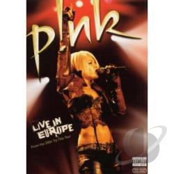 Pink: Live In Europe DVD Cover Art