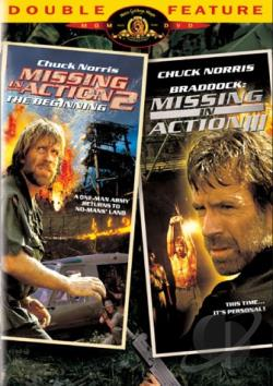 Missing in Action 2/ Missing in Action 3 DVD Cover Art