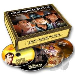 Great American Westerns DVD Cover Art
