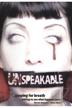 Unspeakable DVD Cover Art