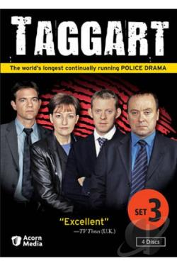 Taggart: Set 3 DVD Cover Art