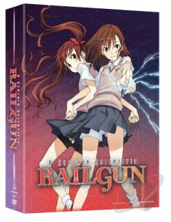 Certain Scientific Railgun: Part One - Episodes 1-12 DVD Cover Art