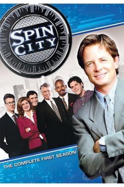 Spin City - Season One DVD Cover Art
