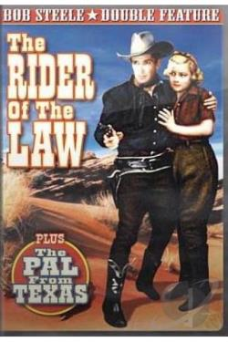 Rider Of The Law/The Pal From Texas DVD Cover Art