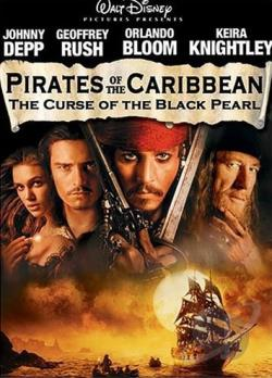 Pirates of the Caribbean: The Curse of the Black Pearl DVD Cover Art