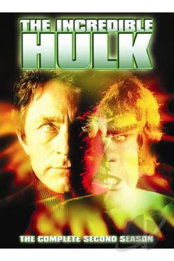 Incredible Hulk - The Complete Second Season DVD Cover Art