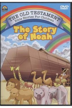 Old Testament Bible Stories For Children - The Story Of Noah DVD Cover Art