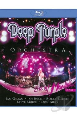 Deep Purple with Orchestra: Live at Montreux 2011 BRAY Cover Art
