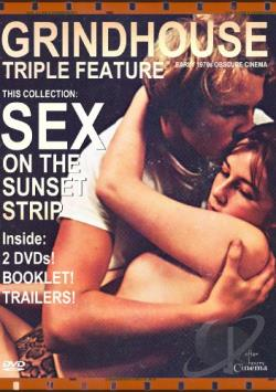 Sex On The Sunset Stripgrindhouse DVD Cover Art