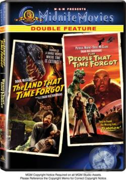 Land That Time Forgot/The People That Time Forgot DVD Cover Art