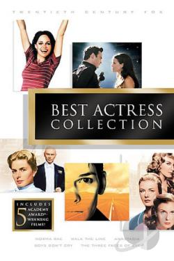 Best Actress Collection DVD Cover Art