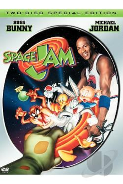 Space Jam DVD Cover Art