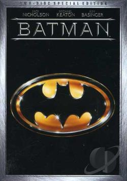 Batman DVD Cover Art