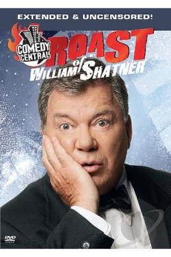 Comedy Central Roast of William Shatner Uncensored DVD Cover Art