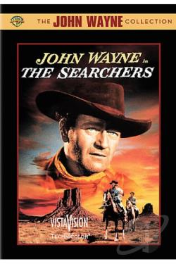 Searchers DVD Cover Art