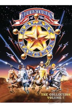 Adventures of the Galaxy Rangers - The Collection Vol. 1 DVD Cover Art
