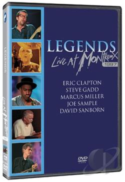 Legends - Live at Montreux 1997 DVD Cover Art