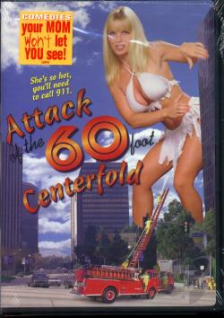 Attack of the 60-Foot Centerfold DVD Cover Art