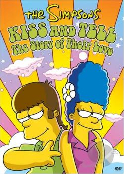 Simpsons - Kiss and Tell DVD Cover Art