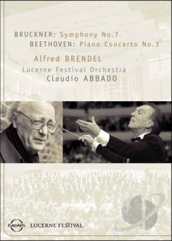 Bruckner: Symphony No. 7/Beethoven: Piano Concerto No. 3 DVD Cover Art