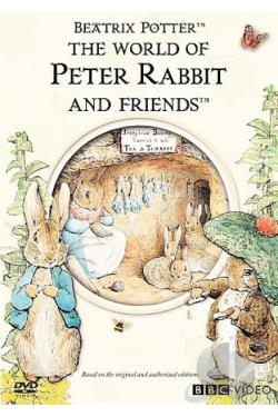 World of Peter Rabbit & Friends DVD Cover Art
