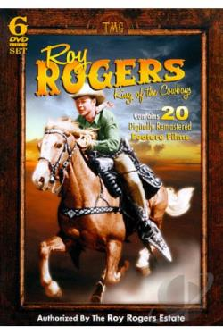 Roy Rogers: King of the Cowboys DVD Cover Art