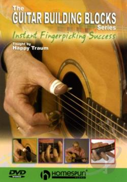 Happy Traum's Guitar Building Blocks: Instant Fingerpicking Success DVD Cover Art