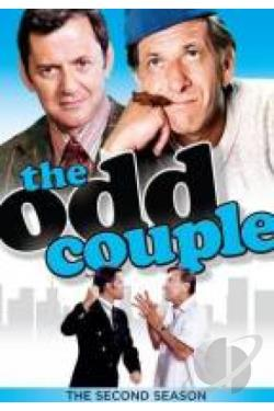 Odd Couple - The Complete Second Season DVD Cover Art