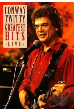 Conway Twitty - Greatest Hits Live DVD Cover Art
